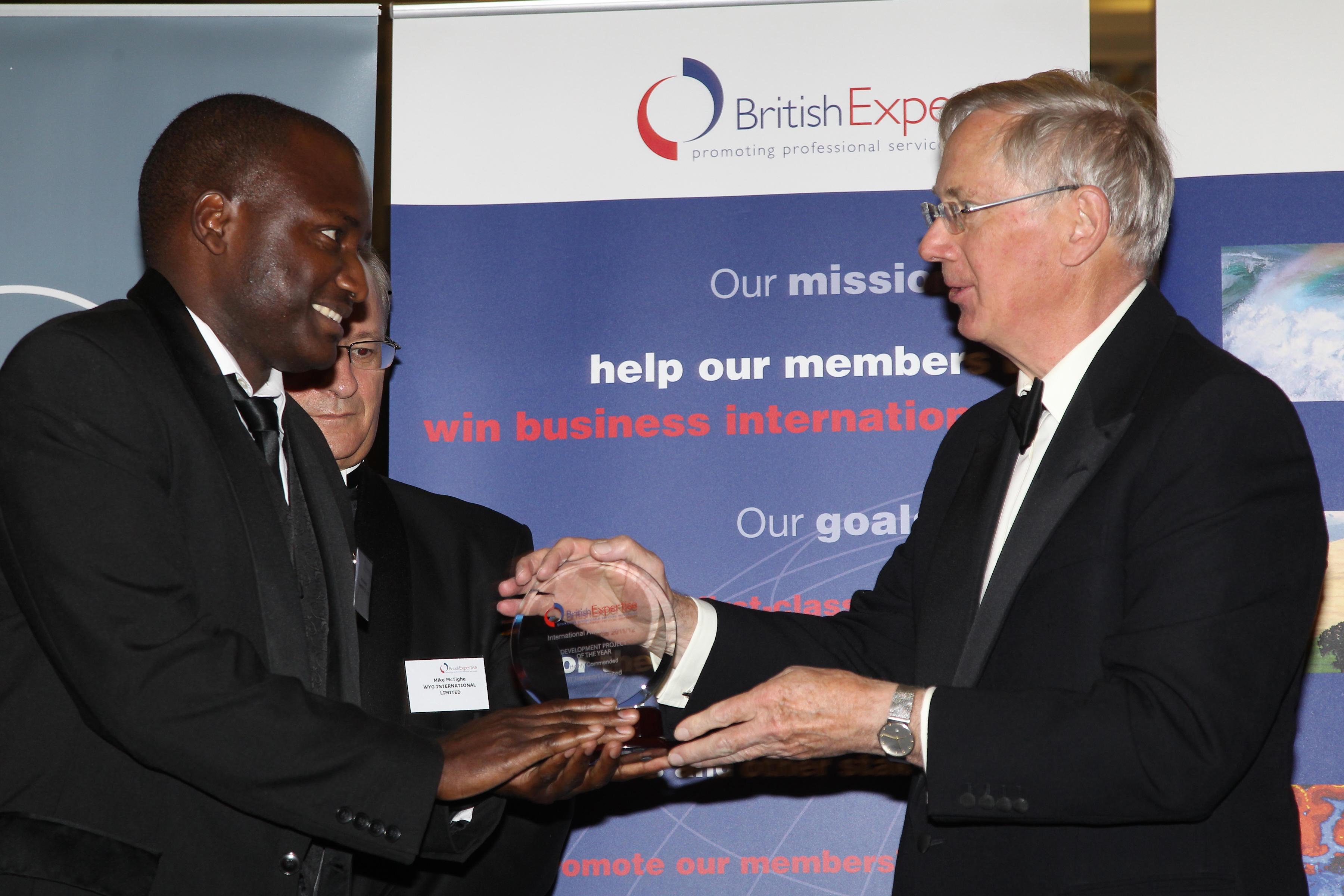 British Expertise International Awards – Highly Commended