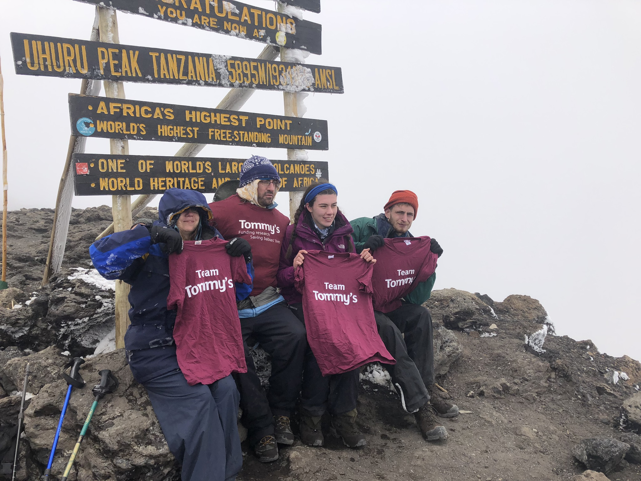 Mount Kilimanjaro Climb for Tommy's